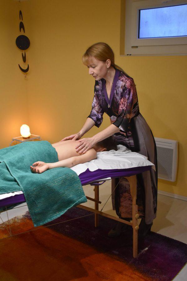 Massage colonne Ivo